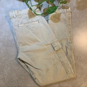 GAP skinny mini khaki pants, tan